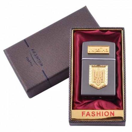 Зажигалка в подарочной упаковке Герб Украины UA-7
