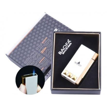 Зажигалка подарочная Baofa 4038 White