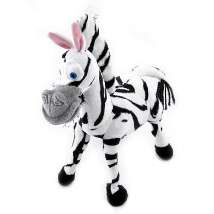 Мягкая игрушка серия Мадагаскар, зебра (25см) №22312