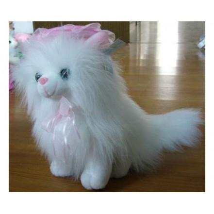 Мягкая игрушка Кот пушистый сидит 8350-25 (25см)
