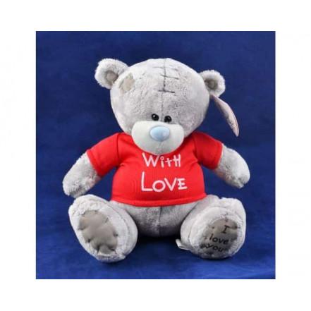Мягкая игрушка медведь Тедди With Love 1565-18 (20 см)