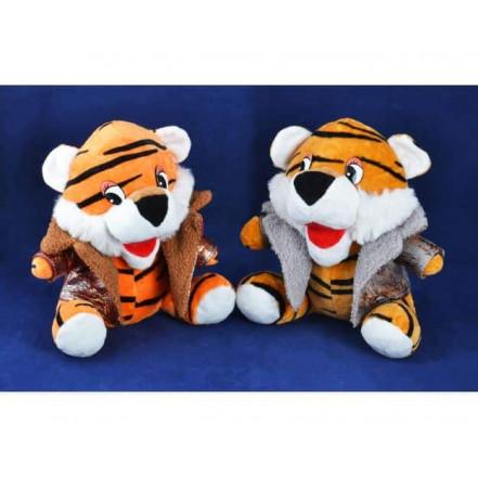Мягкая игрушка Тигр в куртке 155114 (24 см)