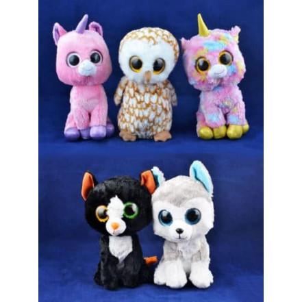 Мягкие игрушки Глазастый Зоопарк 96027 (25 см)