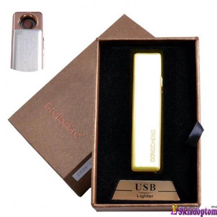 USB зажигалка в подарочной упаковке 4822-5 (спираль накаливания)