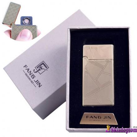 USB зажигалка в подарочной упаковке 4798B-1 (Двухсторонняя спираль накаливания)