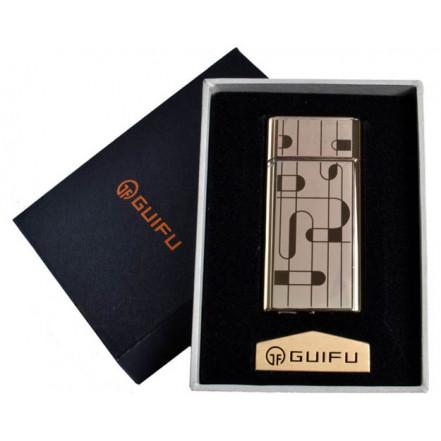 Зажигалка подарочная GUIFU 4690-1 (спираль накаливания, USB)