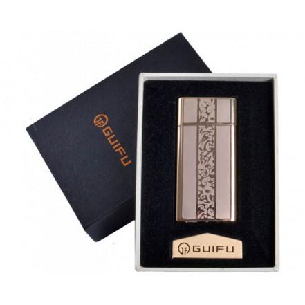 Зажигалка подарочная GUIFU 4690-2 (спираль накаливания, USB)
