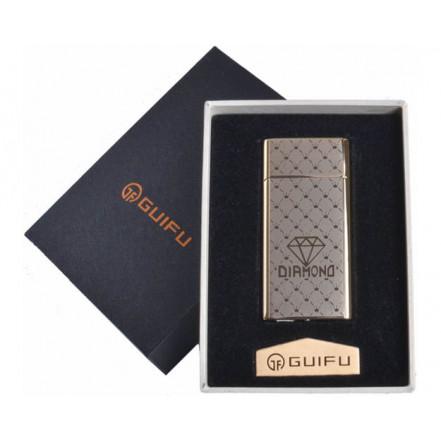 Зажигалка подарочная GUIFU 4690-4 (спираль накаливания, USB)