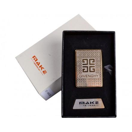 Зажигалка подарочная 4693 (Givenchy,спираль накаливания, USB)