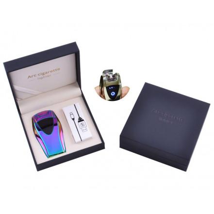 USB зажигалка в подарочной коробке ArcCigarette HL-39 Сhameleon (Электроимпульсная, двойная дуга)
