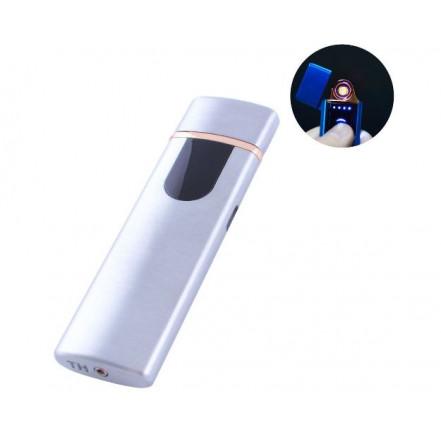 USB зажигалка HL-75 Silver LIGHTER