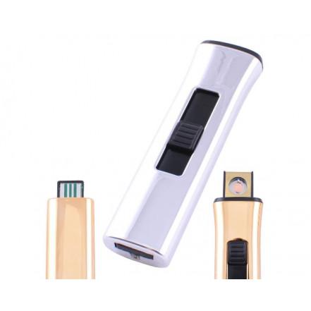 USB зажигалка HL-78 Silver LIGHTER