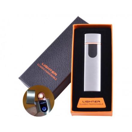 USB зажигалка в подарочной коробке Lighter HL-101-4 (Спираль накаливания)