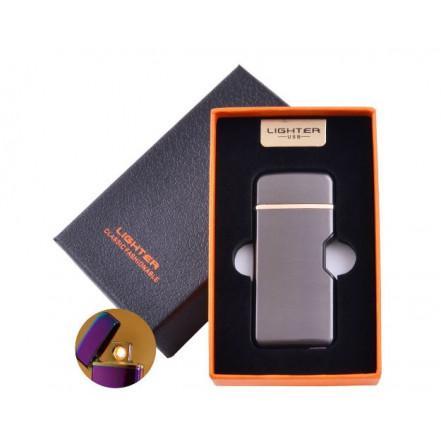 USB зажигалка в подарочной коробке LIGHTER HL-114 Black