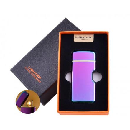 USB зажигалка в подарочной коробке LIGHTER  HL-114 Chameleon