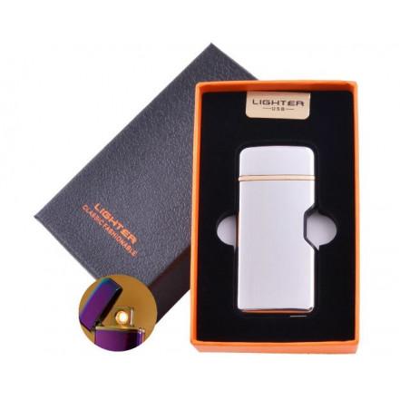 USB зажигалка в подарочной коробке LIGHTER HL-114 White