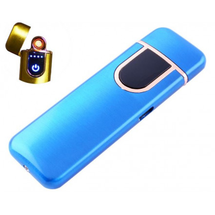 USB зажигалка HL-142 Blue