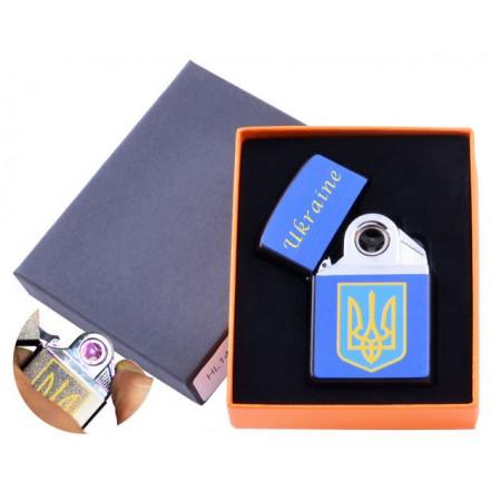 USB зажигалка в подарочной коробке Украина HL-145-2 электроимпульсная
