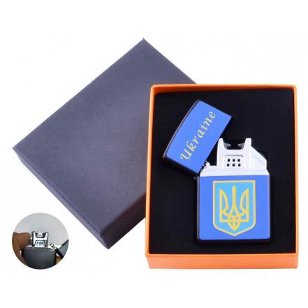 USB зажигалка в подарочной коробке Украина HL-146-4 электроимпульсная