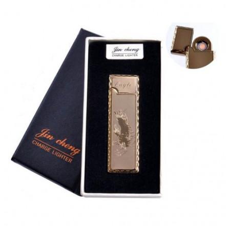 """USB зажигалка в подарочной упаковке 4793-2 (""""Eagle"""",двухсторонняя, спираль накаливания)"""