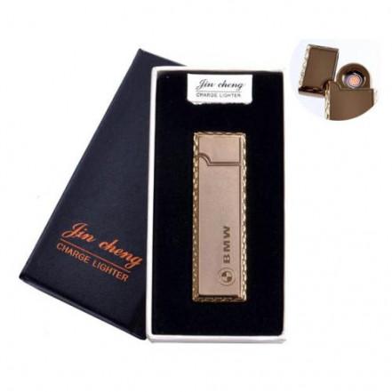 "USB зажигалка в подарочной упаковке 4793-4 (""BMW"",двухсторонняя, спираль накаливания)"