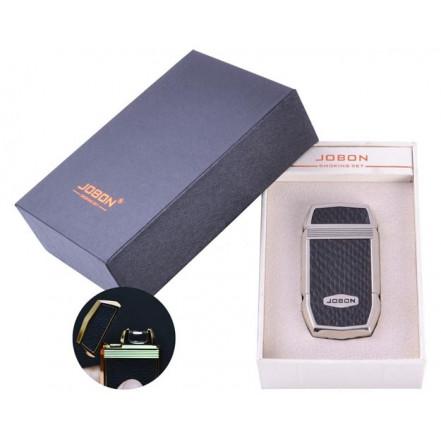 USB зажигалка в подарочной упаковке Jobon 4963-1 (Электроимпульсная)