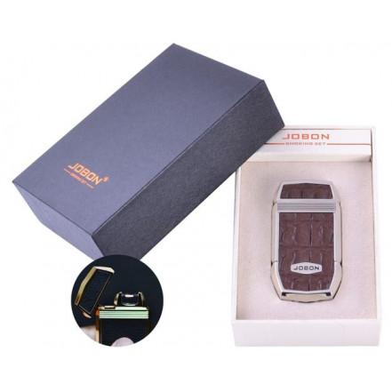 USB зажигалка в подарочной упаковке Jobon 4963-2 (Электроимпульсная)