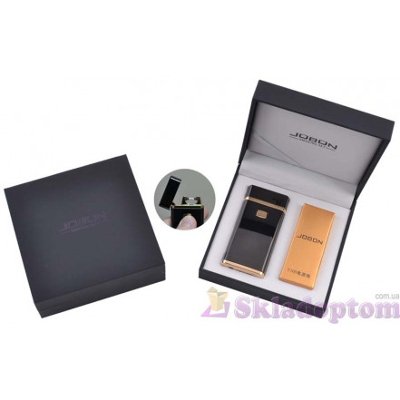 Электроимпульсная USB зажигалка Jobon (Black) 4883-3