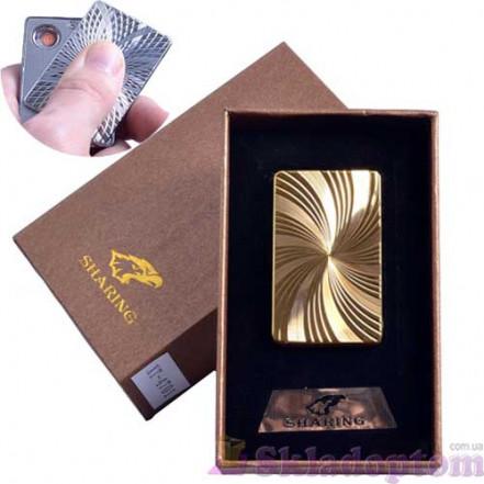 USB зажигалка в подарочной упаковке SHARING 4701-2