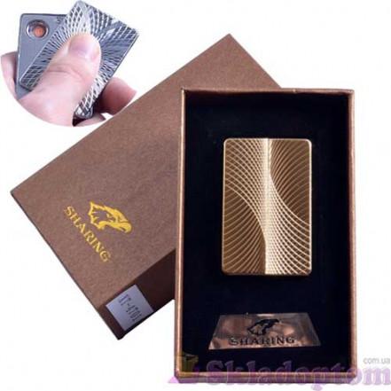 USB зажигалка в подарочной упаковке SHARING 4701-3