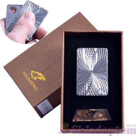 USB зажигалка в подарочной упаковке SHARING 4701-4