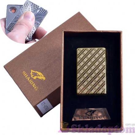 USB зажигалка в подарочной упаковке SHARING 4701-6