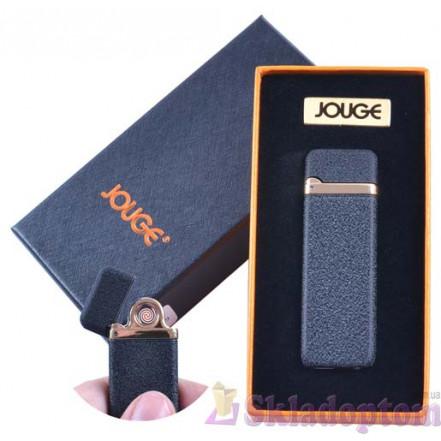 """USB зажигалка в подарочной упаковке 4869-1 """"Jouge"""" (Двухсторонняя спираль накаливания)"""