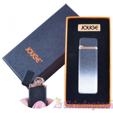 """USB зажигалка в подарочной упаковке 4869-2 """"Jouge"""" (Двухсторонняя спираль накаливания)"""