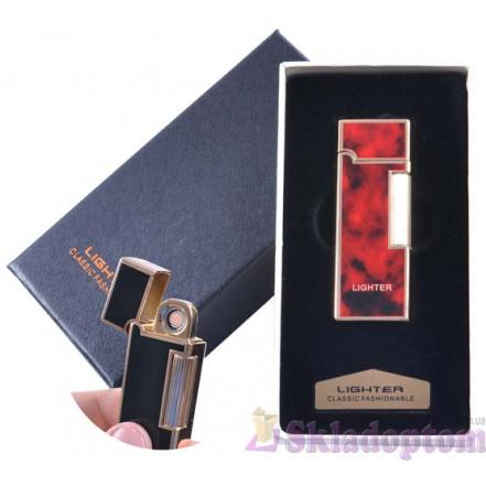 USB зажигалка в подарочной упаковке 4870-1 (Двухсторонняя спираль накаливания)