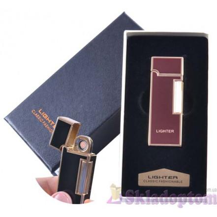 USB зажигалка в подарочной упаковке 4870-2 (Двухсторонняя спираль накаливания)