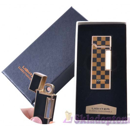 USB зажигалка в подарочной упаковке 4870-3 (Двухсторонняя спираль накаливания)