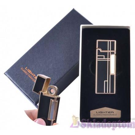 USB зажигалка в подарочной упаковке 4870-4 (Двухсторонняя спираль накаливания)