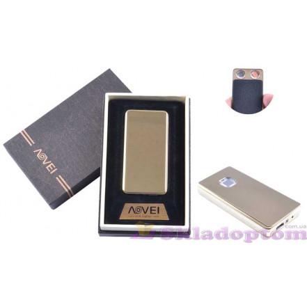 """USB зажигалка в подарочной упаковке 4879-3 """"AOVEI"""" (две спирали накаливания)"""