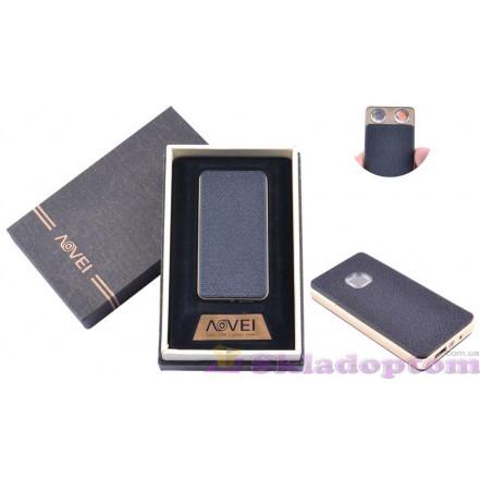 """USB зажигалка в подарочной упаковке 4879-4 """"AOVEI"""" (две спирали накаливания)"""
