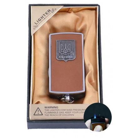 Зажигалка-брелок в подарочной упаковке (Герб Украины) XC-18-1