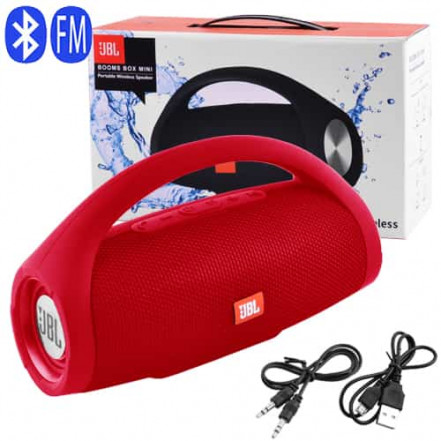 Bluetooth-колонка JBL BOOMS BOX MINI, c функцией PowerBank, speakerphone, радио