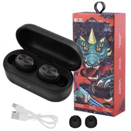 Bluetooth-наушники JBL TWS-BT A11 с кейсом, black