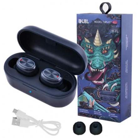Bluetooth-наушники JBL TWS-BT A11 с кейсом, blue