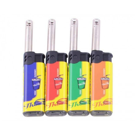 Бытовая зажигалка с регулированием пламени 920-2 CARBONATED DRINKS