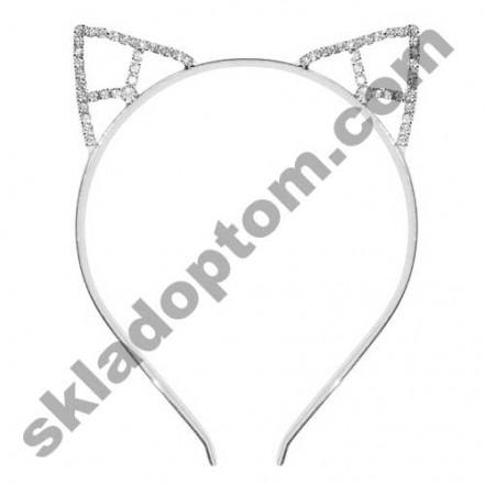 Ушки Кошки на ободке металл