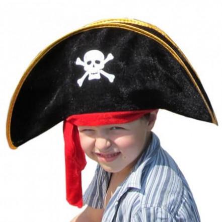 Шляпа детская Пират с повязкой