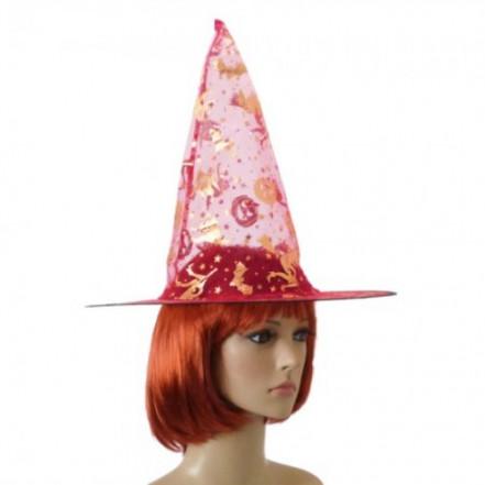 Шляпа Колпак капроновая (розовая)