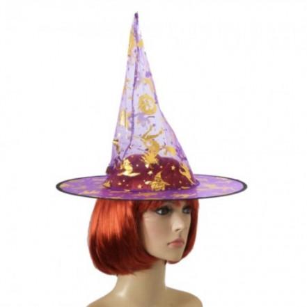 Шляпа Колпак капроновая (фиолетовая)