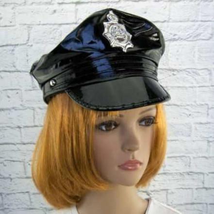 Фуражка Полицейского лаковая
